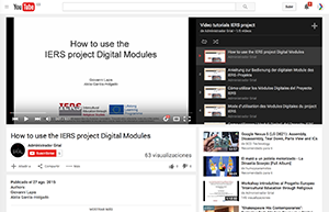 Videotutorials available on Youtube