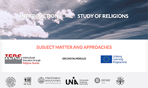 Introduction to the Study of Religions: Subject Matter and Approaches