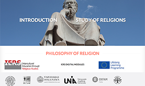 Introduction to the Study of Religions: Philosophy of religion