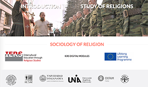 Introduction to the Study of Religions: Sociology of religion